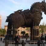 """Cannakkale, il cavallo di """"Troy"""""""